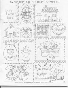 sampler - also links to a book with more patterns