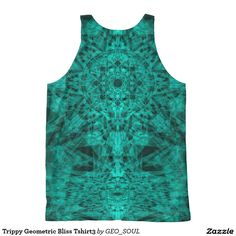 Trippy Geometric Bliss Tshirt3 All-Over Print Tank Top