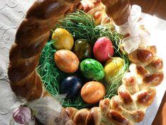 Geflochtener Osterkorb - Frohe Ostern!