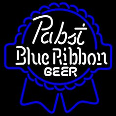 Pabst Blue White Ribbon Neon Beer Sign, Pabst  Neon Beer Signs & Lights | Neon Beer Signs & Lights. Makes a great gift. High impact, eye catching, real glass tube neon sign. In stock. Ships in 5 days or less. Brand New Indoor Neon Sign. Neon Tube thickness is 9MM. All Neon Signs have 1 year warranty and 0% breakage guarantee.