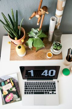 plants for the home office