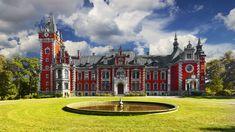 Pławniowice - pałac Ballestremów, historia, zdjęcia, wstęp