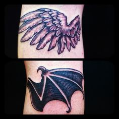 #Demonwing #reikotattoo #tattoo
