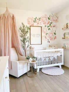 Boy Names Discover Autumn Roses Flower Decals Nursery Wall Decals Flower Wall Stickers Pink Girls Wall Decals Wall . Nursery Wall Decals, Baby Nursery Decor, Baby Decor, Nursery Letters, Baby Nursery Ideas For Girl, Vintage Nursery Girl, Baby Girl Rooms, Babies Nursery, Chic Nursery
