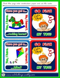 TOYS + HAVE GOT GO FISH! GAME
