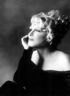 "Bette Midler (born December 1, 1945) is an American singer-songwriter, actress, and comedian, also known by her informal stage name, The Divine Miss M. She became famous as a cabaret and concert headliner, and went on to star in successful and acclaimed films such as The Rose, Ruthless People, Beaches, and For The Boys. ""Cherish forever what makes you unique, 'cuz you're really a yawn if it goes."""