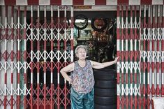 #tbt - the time I went to #bangkok and this lovely lady let me take her photo in front of her store...   #thailand #people #streetphotography #outdoors #portraits #shops #shopkeeper #travelphotography #travel