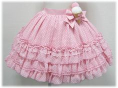 Angelic Pretty - Happy Ice Cream skirt (pink)