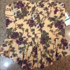 🎉PRICE DROP🎉 Jessica Simpson corset top size L Floral print corset top. It zips down the back and has straps that can be attached. Jessica Simpson Tops