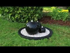 How to build your own fountain - Lowe's Creative Ideas Sphere Water Feature, Water Features In The Garden, Pvc Pipe, Build Your Own, Shade Garden, Amazing Gardens, Lowes, Creative Ideas, Fountain