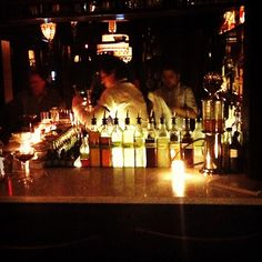 #Mojito in progress at the #speakeasy / Instagram photo by  @bensonn1 party cocktails, PX, Old Town Alexandria