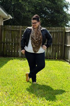 deb shops jacket and tee, lane bryant genius fit jeans, sole provisions vionic olivia flats, chico's leopard print scarf, plus size fashion, plus size blog, plus size fashion blogger, plus size fashion blog, stand up to cancer with chico's, #Istandupfor
