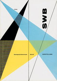 Hans Neuburg  Schweizerische Werkbund, book cover, 1950.