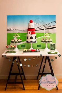 Sports Birthday Party Ideas | Photo 2 of 19