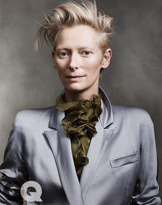 Tilda Swinton--GQ Woman of the Year! Great choice, GQ, and a fantastic article!