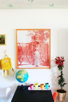 How to Colorize and make large engineering prints for your home. Love these!