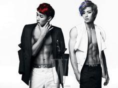Super Junior Eunhyuk and Leeteuk