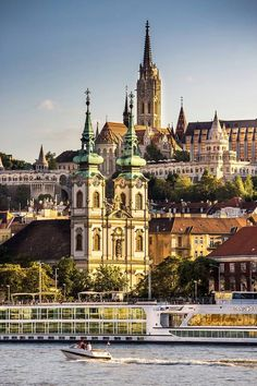 Budapest. Hungary with the Danube river
