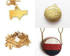 Golden red Christmas! by Papicca on Etsy--Pinned with TreasuryPin.com