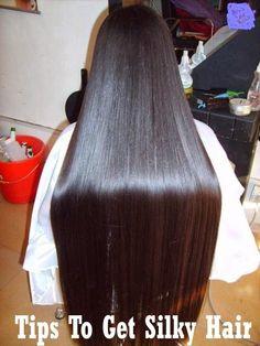 Tips to Get Silky Hair   Medi Tricks