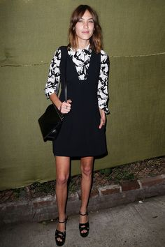 Alexa Chung fashion and style - See pictures of Alexa Chung - and her covetable hair - on the red carpet and at fashion parties and see why she's one of our best dressed people in the world and designing for Madewell