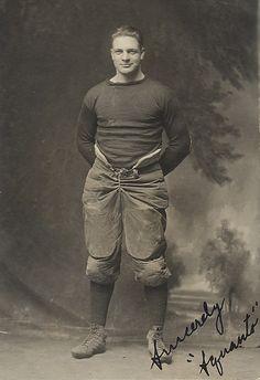 football             player, c.1911