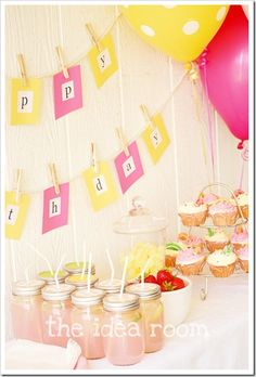 girl bday party