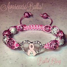BallaBling Swarovski Crystal Breast  by BallaBlingShamballas, $40.00