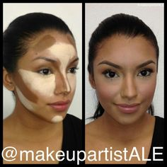 Contouring with cream based makeup - I want to learn how to do this.