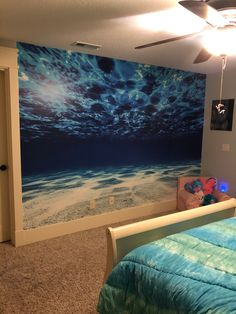 Add this beautiful underwater view of your favorite paradise to your wall. Beach Wall Murals, Home Wall Decor, Textured Walls, Underwater, Airplane View, Wall Decals, Paradise, Tropical, World