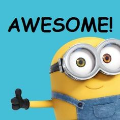 Minion thumbs up