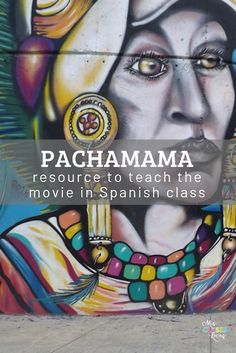 learning spanish Inside: Resources for Spanish class for the Netflix movie Pachamama. Teach a cultural unit centered around Pachamama in Spanish class. If you are a Spanish teacher in Spanish Online, Ap Spanish, Spanish Culture, Spanish Alphabet, Learn Spanish, Middle School Spanish, Elementary Spanish, Teaching French, Teaching Spanish