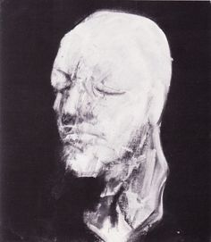 Francis Bacon, 'Study for Portrait, Number V (After the Life Mask of William Blake)' (1956)
