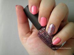 #notd #opi #kissmeimbrazilian #bbloggers #glitter #opipink #pinknailpolish #nailpolish