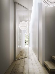 Mitika | pivot sliding door by @ADLporte  glass pivot door, Mitika collection
