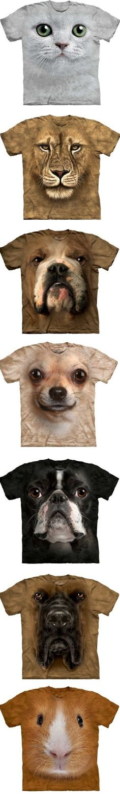 A collection of hyper realistic animal face designs (from $18) #tshirts