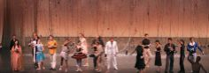 the 11th World Ballet Festival in left-to-right manner:  Angel Corella/Alessandra Ferri/Nicolas Le Riche/Sylvie Guillem/Barbora Kohoutkova/Iñaki Urlezaga/José Carreño . /Tamara Rojo/Andrei Uvarov/Tadatsugu Sasaki (Executive Director, NBS)/Galina Stepanenko/Vladimir Malakhov of the orchestra pit and he walked on it!!! Alexander Sotnikov Diana Vishneva/Roberto Bolle/Alina Cojocaru/Marcelo Gomes/Gil Roman/José Martinez Mr. Green Manuel Legris