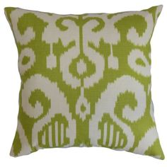 The Pillow Collection Teora Ikat Pillow Lime ** You can find out more details at the link of the image.-It is an affiliate link to Amazon. #Sofa