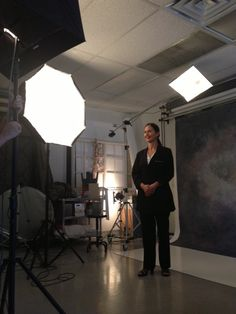 Dr. Jameson of Volunteers in Medicine being photographed for Las Vegas Woman's #FearlessFemales feature.