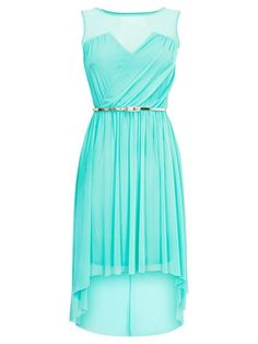 Mint high low dress – gorgeous    followpics.co