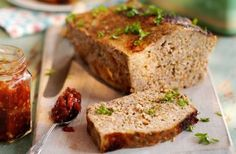 Slimming World meatloaf with tomato and chilli jam recipe - Recipes - goodtoknow