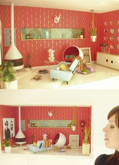 dollhouse. I really need to have my dream mid-century modern dollhouse