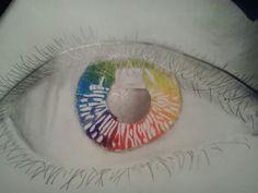 #plasticatocha15 Trabajo sobre la teoría del color. Ruleta de los colores.
