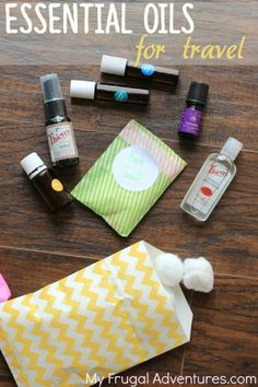 Fun way to travel safe with your oils! Great gift idea, too.