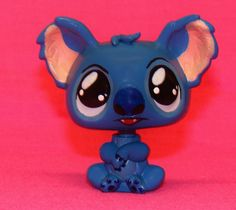 Kawaii Disney Lilo & STITCH OOAK custom figure Littlest Pet Shop LPS Hand painte #Hasbro
