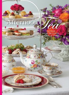 Bring home the cherished tradition of afternoon tea with this beautiful hardback book packed full of recipes and ideas to plan a classy tea party!