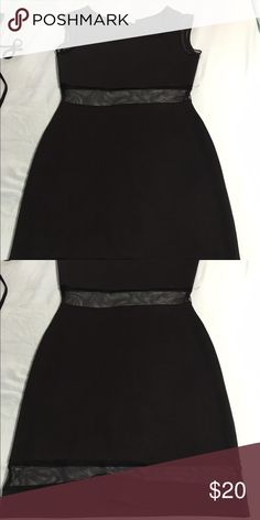 Body con dress with sheer cut out Body con dress with sheer cut out on stomach and thighs- worn once Dresses Wedding