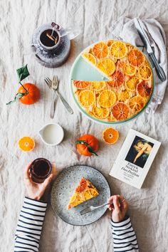 Polentakuchen mit Blutorangen & Chai Mokka von Hari Tea · Eat this! Vegane Rezepte & Lifestyle