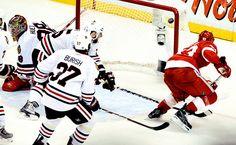 Helm OT goal vs. Chicago in 09'playoffs