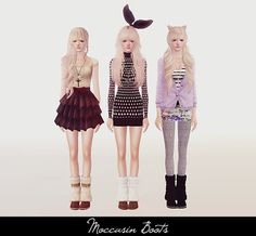 My Sims 3 Blog: Clothing, Accessories and Shoes by Rukisims